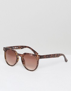 Солнцезащитные очки в черепаховой оправе AJ Morgan Actualize - Коричневый