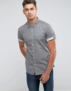 Рубашка с короткими рукавами Esprit - Темно-синий