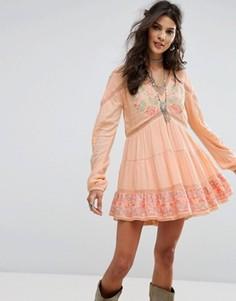 Платье RahiCali Lotus Dream - Оранжевый
