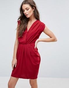 Платье-тюльпан Y.A.S Amber - Красный