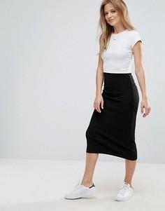 Многослойное платье-футболка Brave Soul - Черный