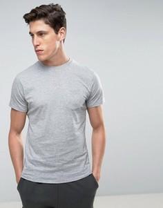 Футболка с карманом Threadbare - Серый