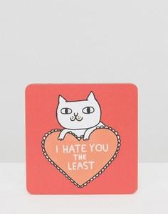 Подставка под напитки Ohh Deer I Hate You - Мульти