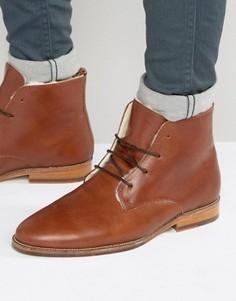 Ботинки на меховой подкладке со шнуровкой Bobbies LExplorateur - Коричневый