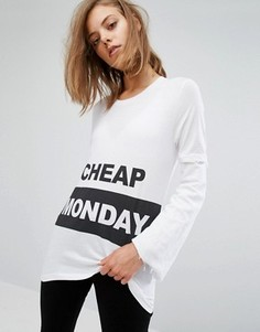 Футболка с логотипом Cheap Monday - Белый