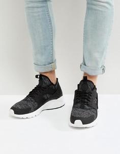 Черные кроссовки Nike Huarache Run Ultra 833147-003 - Черный