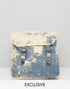 Выбеленный рюкзак Reclaimed Vintage - Синий