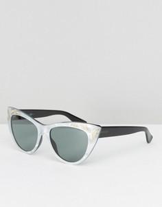 Солнцезащитные очки кошачий глаз Gucci - Серый