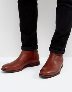Ботинки с молнией Paul Smith Jean - Рыжий