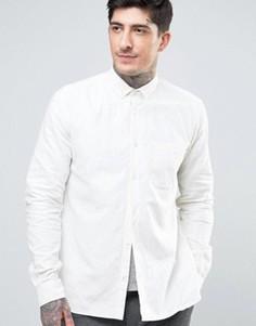 Рубашка на пуговицах YMC Harajuku - Кремовый
