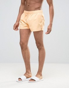 Короткие шорты для плавания Ringspun - Оранжевый