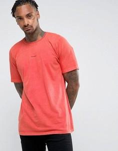 Футболка глубокой окраски Maharishi - Оранжевый