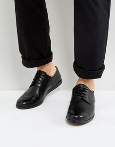 Кожаные туфли на шнуровке Zign - Бежевый