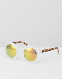 Солнцезащитные очки с прозрачной оправой AJ Morgan - Прозрачный