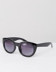 Солнцезащитные очки в черепаховой оправе AJ Morgan - Черный