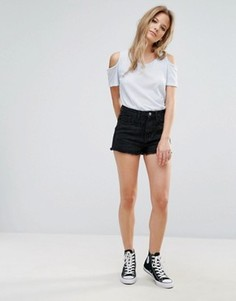 Джинсовые шорты Brave Soul - Черный