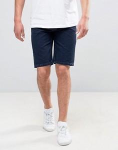 Окрашенные джинсовые шорты Bellfield - Темно-синий