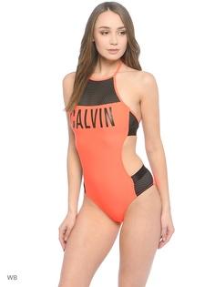 Слитные купальники Calvin Klein