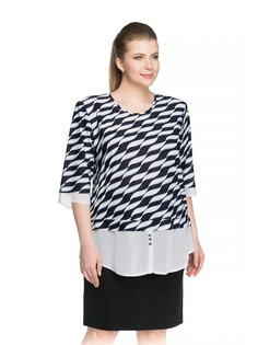 a71375438db Купить женские блузки и рубашки больших размеров в интернет-магазине ...