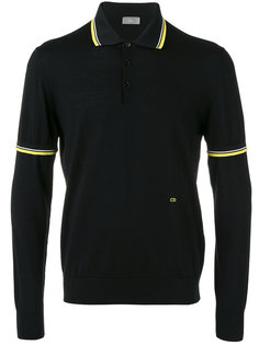 contrast polo shirt  Dior Homme