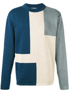 свитер дизайна колор-блок Études