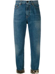 укороченные джинсы Saint Laurent