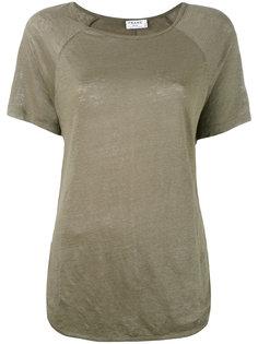 curved hem T-shirt Frame Denim