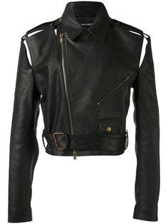 укороченная байкерская куртка Y / Project