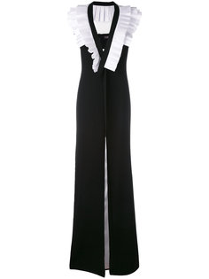 pleated detail gown Capucci