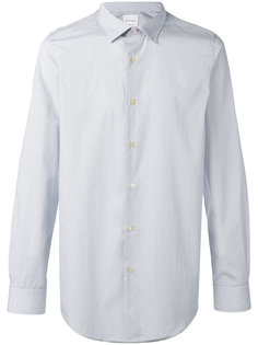 рубашка с принтом и контрастной подкладкой  Paul Smith