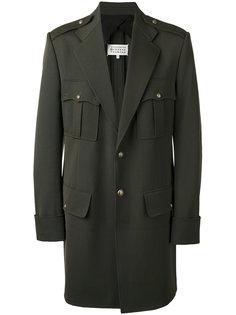 пальто в стиле милитари Maison Margiela