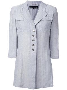 пиджак с укороченными рукавами и жаккардовым эффектом  Jean Louis Scherrer Vintage