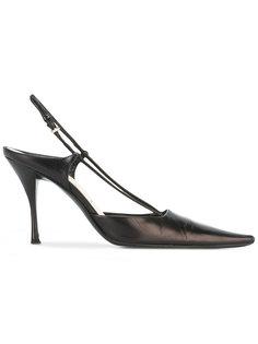 удлиненные туфли-лодочки с квадратным носком  Prada Vintage