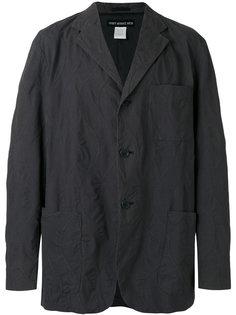 свободный пиджак с отделкой  Issey Miyake Vintage