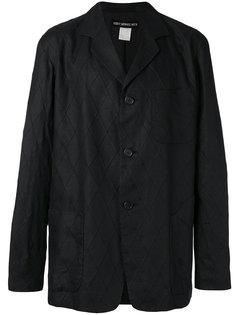 пальто на пуговицах с декоративной строчкой  Issey Miyake Vintage