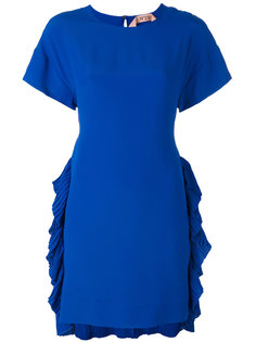 платье с плиссировками по бокам Nº21