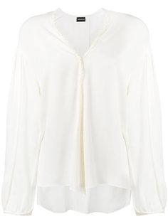 блузка с кружевной отделкой  Magda Butrym
