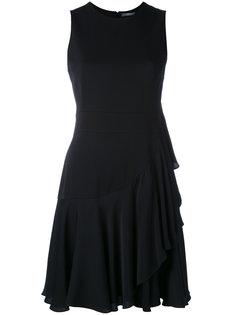 мини-платье с рюшами Alexander McQueen