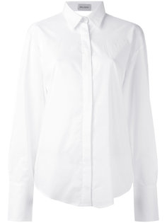 рубашка с открытой спиной Balossa White Shirt