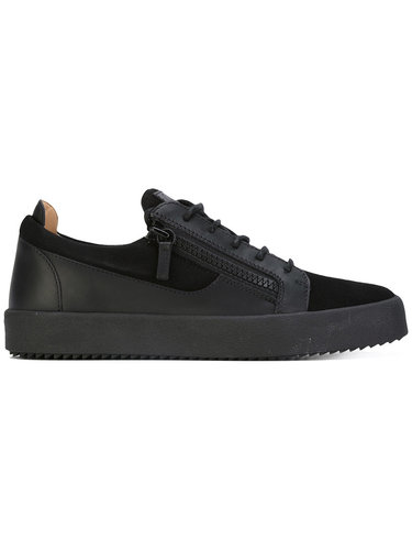 кроссовки с молниями по бокам Giuseppe Zanotti Design