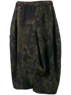 пышная юбка с абстрактным принтом Comme Des Garçons