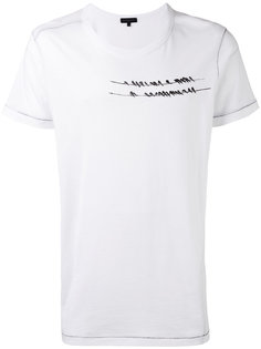 printed T-shirt Ann Demeulemeester Grise