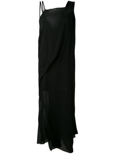 полупрозрачное платье шифт  Isabel Benenato