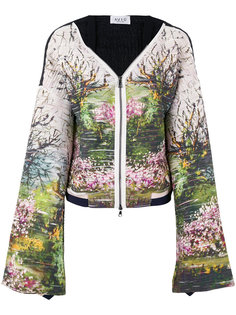 куртка с цветочным принтом  Aviù