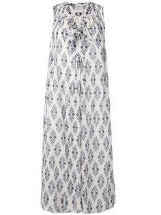 платье с ромбовидным узором Forte Forte
