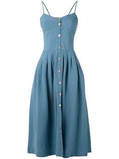 джинсовое платье со складками Forte Forte