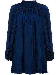 мини-платье с присборенной отделкой Rossella Jardini