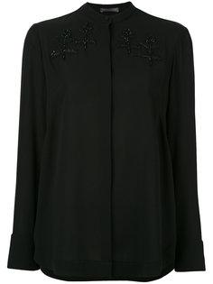 блузка с вышивкой Alexander McQueen