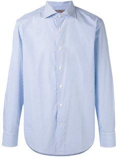 полосатая рубашка с длинными рукавами Canali