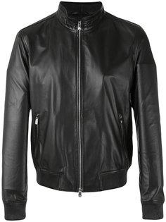 leather jacket Corneliani